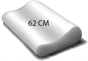 oreiller ergonomique 62cm literie westelynck