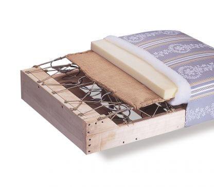 sommier tapissier soufflets mousse literie westelynck