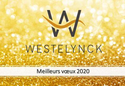 Meilleurs vœux 2020 literie westelynck