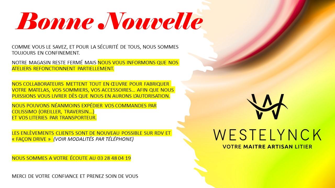 BONNE NOUVELLE_LE TRAVAIL REPREND
